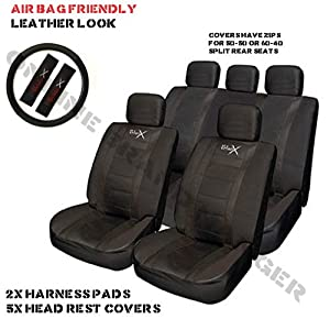 Skoda Octavia Sports Seat Cover Set Black