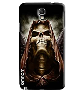 Omnam Skelton Lauging With Big Teeths Printed Designer Back Cover Case For Samsung Galaxy Note 3 Neo