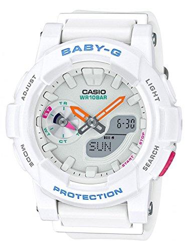 Casio BGA-185-7AER - Reloj de pulsera Mujer, resina, color Blanco roto