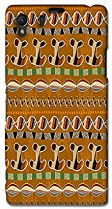 Timpax protective Armor Hard Bumper Back Case Cover. Multicolor printed on 3 Dimensional case with latest & finest graphic design art. Compatible with Sony L39H - Sony 39 Design No : TDZ-28809
