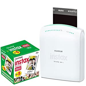 Fujifilm Instax Share Smartphone Portable Printer SP-1 With Fujifilm