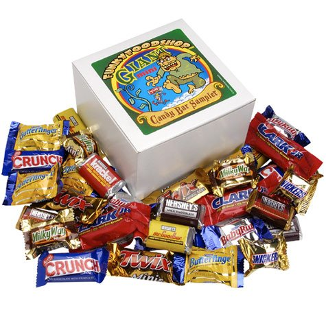 Funkyfoodshop's Giant Mini Candy Bar Sampler