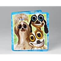 Dogs Gone Googley Birthday Card