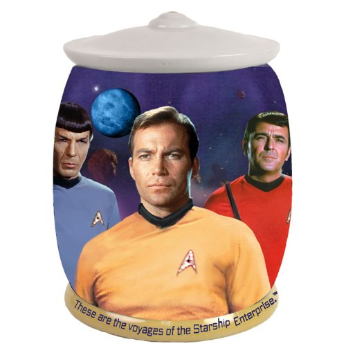 Westland Giftware Star Trek These Are The Voyages Cookie Jar, 9-inch