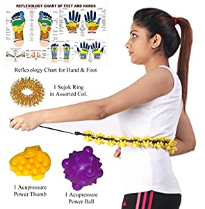 Magic Acupressure Massager for Whole Body Care with 9 Benefits