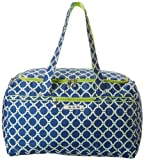Ju-Ju-Be Starlet Travel Duffel Bag with Two Zippered Pockets, Royal Envy