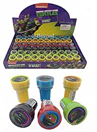 New! (60ct) Teenage Mutant Ninja Turtles Tmnt Stamps Stampers Self-inking Party Favors- Full Box!