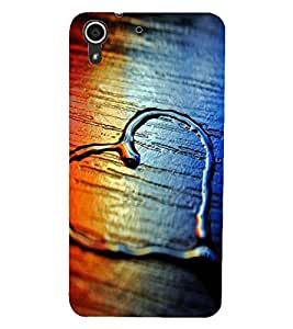 HTC DESIRE 728 HEART Back Cover by PRINTSWAG