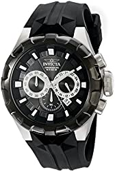 Invicta Men's 16918 I-Force Analog Display Japanese Quartz Black Watch
