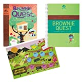 HOW TO GUIDE GIRL SCOUT BROWNIES ON BROWNIE QUEST [Spiral-bound]
