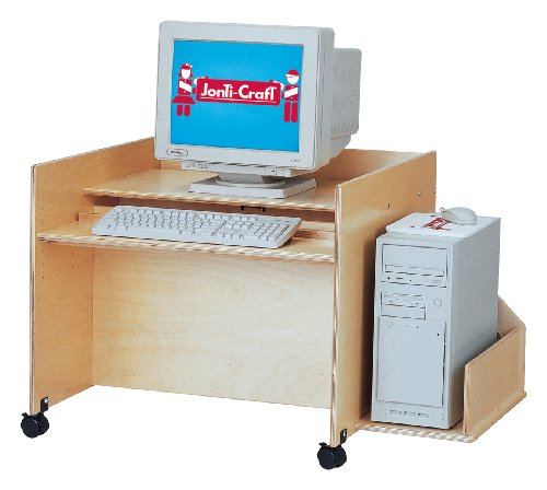 Buy Low Price Comfortable Kydz Computer Desk – Single – School & Play Furniture (B002LTJ306)