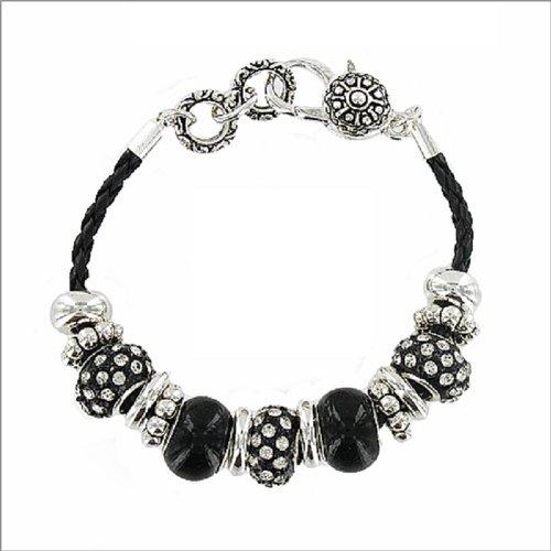 Designer Texture Multi Rondelle Bracelet #035695