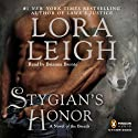 Stygian's Honor: The Breeds, Book 27 (       UNABRIDGED) by Lora Leigh Narrated by Brianna Bronte