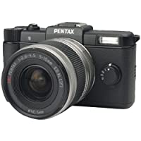 Pentax 15100 12.4 Megapixel Q Digital Slr Camera Black With 02 Zoom Lens from Pentax
