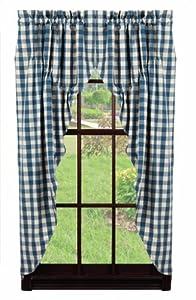 Amazoncom IHF Picnic Design Prairie Curtain Window