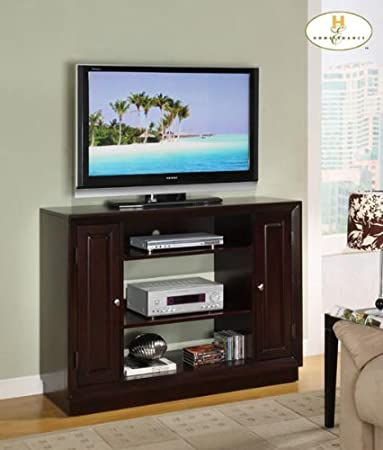 Aruba TV Stand in Rich Brown Cherry