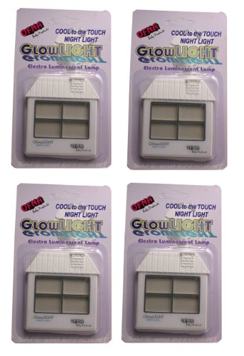 Glow Light Cool To The Touch 4-Pack (House White)