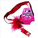 Hen Night Party Pink L-Plate Whistle PINK - With Necklace For Ladies Night Out