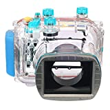 Meikon 40M 130ft DC Underwater Waterproof Case for Canon WP-DC34 PowerShot G11 G12