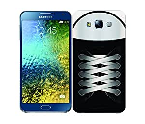 Galaxy Printed 2843 Sneakers Black Hard Cover for Samsung E7