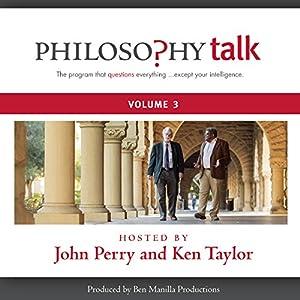 Philosophy Talk, Vol. 3 Speech
