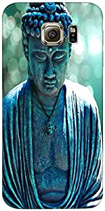 Snoogg Buddha Caught In The Moment Case Cover For Samsung Galaxy S Iiiiii Edg...