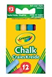 Crayola Anit Dust Assorted Chalk x12 Packs