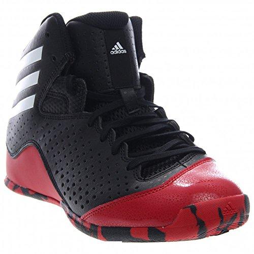 adidas Performance NXT LVL SPD IV K Shoe (Little Kid/Big Kid),Black/White/Scarlet,5 M US Big Kid (Adidas Shoes For Big Boys compare prices)