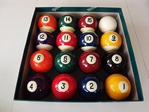 "Spots and Stripes 2"" Pool Ball Set"