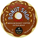 Coffee People Donut Shop Regular Medium Roast Extra Bold, K-Cup Portion Pack for Keurig K-Cup Brewers 24-Count (Pack of 2) ~ Coffee People