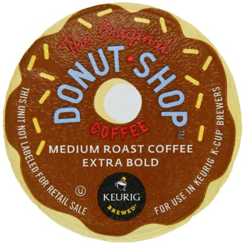 Coffee People Donut Shop Medium Roast Extra Bold, K-Cup Portion Pack for Keurig K-Cup Brewers 24-Count (Pack of 2)