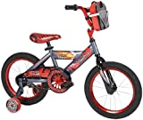 Huffy Boy's Disney Cars Bike, Trophy Grey/Black, 16-Inch