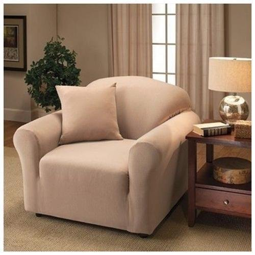 Jersey Stretch Love Seat Protector Slip Cover 70 x 120 Linen