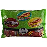 Skittles/Starburst Fun Size Mix - 172 ct