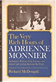 img - for The Very Rich Hours of Adrienne Monnier book / textbook / text book