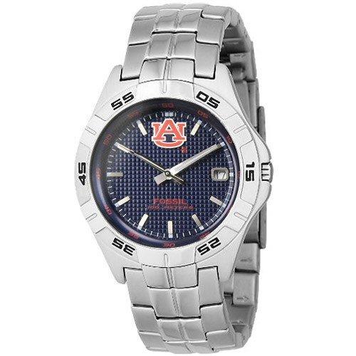 Fossil Men's LI2733 NCAA Auburn Tigers Round Dial Watch ...