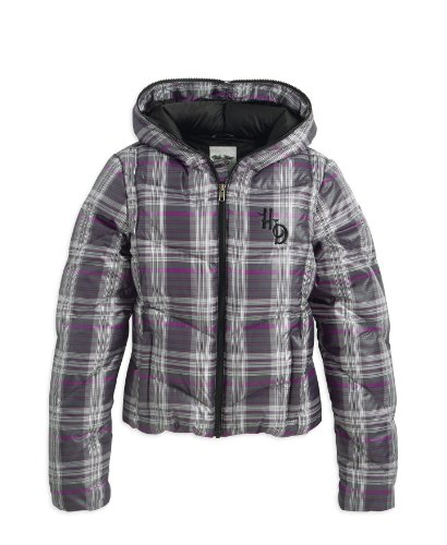 Harley-Davidson Plaid Jacke Women 97525-12VW Damen Outerwear