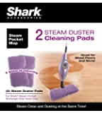 Shark Steam Duster Microfiber Cleaning Pads, Set of 2, XT3501SD