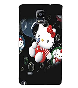 SAMSUNG GALAXY NOTE 4 KITTY Designer Back Cover Case By PRINTSWAG