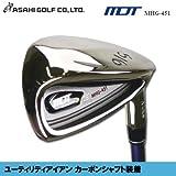 ASAHI GOLF(アサヒゴルフ)MDT ユーティリティアイアン カーボンシャフト装着 単品 MHG-451