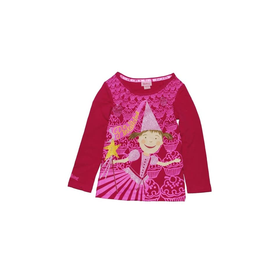 Pinkalicious Little Girls Long Sleeve Tee Shirts