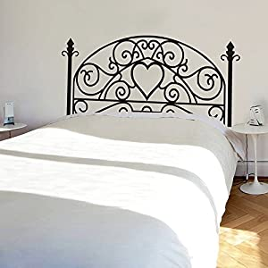 Amazoncom Wrought Iron Headboard Wall Decal Square