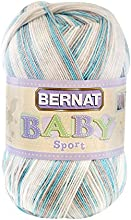 BERNAT Baby Sport Big Ball Yarn Ombres Popsicle Blue Ombre