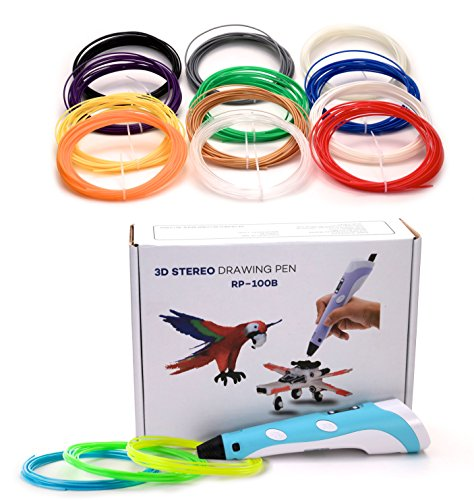 3D-Pen-Doodler-Printer-for-Kids-and-Adults-with-Twelve-12-Different-Color-Filament-Refills-Included