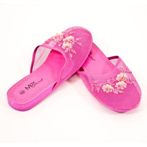 Cheap Mesh Slippers – Hot Pink (B00354SVF4)