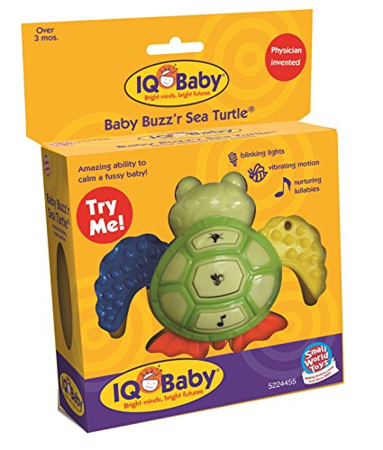 Small World Toys IQ Baby - Baby Buzz'r Sea Turtle  B/O