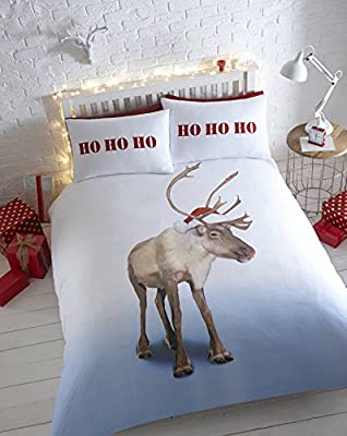 Reindeer Quilt Duvet Set 100% Cotton