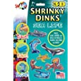Sea Life Shrinky Dinks in 3D
