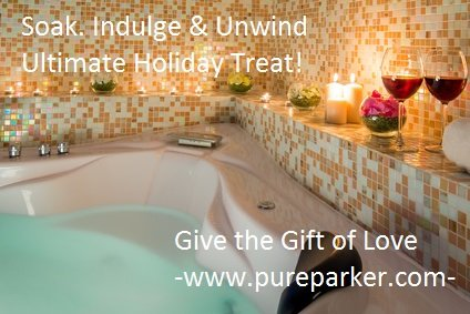 Pure! Spa in a Basket -Natural Spa Kit Best Gift Set for Women (Kiwi)