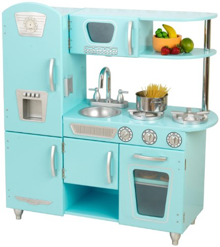 51EdHCUuS0L Buy  KidKraft Vintage Kitchen in Blue